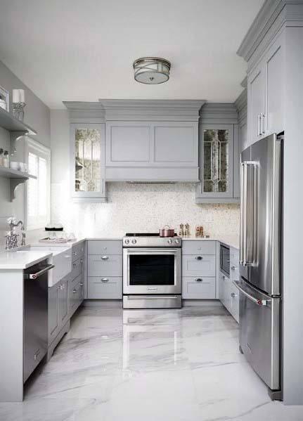 Top 50 Best Kitchen Floor Tile Ideas Flooring Designs White Kitchen Floor Kitchen Flooring Kitchen Cabinet Design