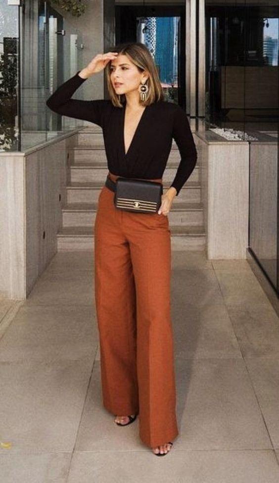 Los Colores Que Seran Tendencia En Este Invieno 2021 Cm Life Style En 2021 Pantalones De Vestir Mujer Moda Ropa De Trabajo Ropa