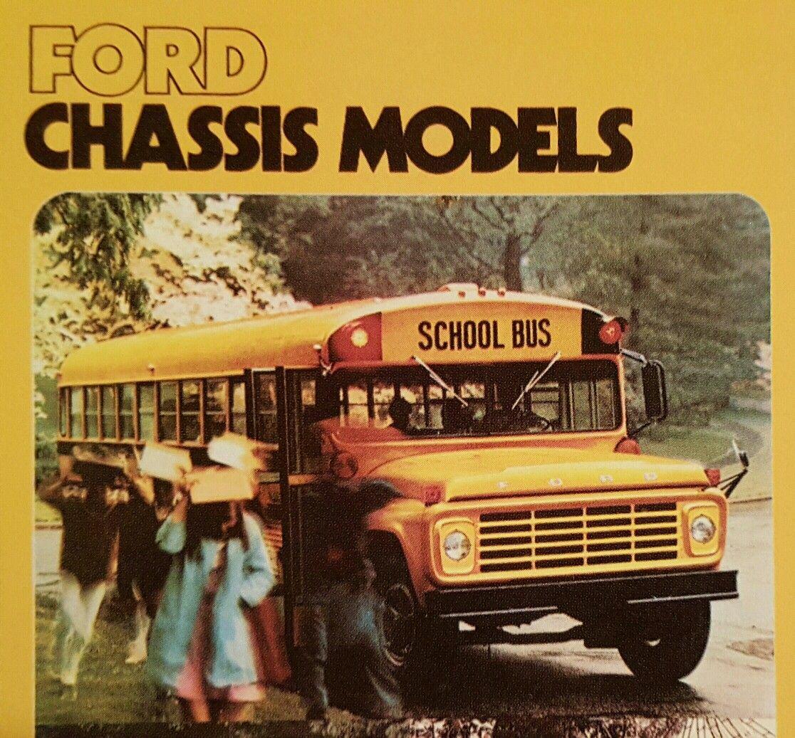 1976 Ford School Bus with a Thomas Built School Bus Body