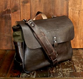 Palmer Trading Company Riverside Messenger Bag Mens