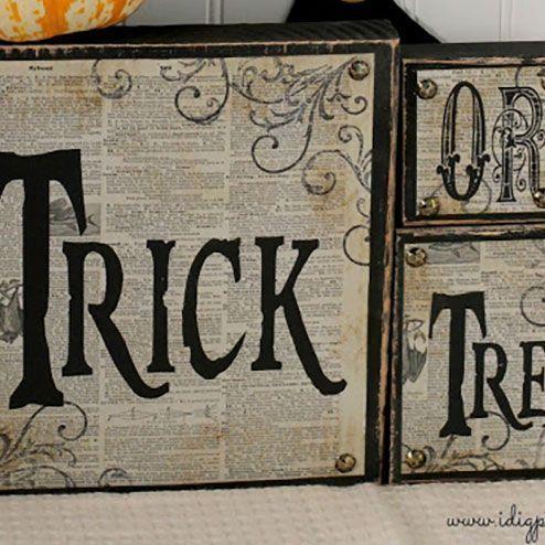 23 Cute DIY Halloween Decorations - Easy Homemade Halloween Decor