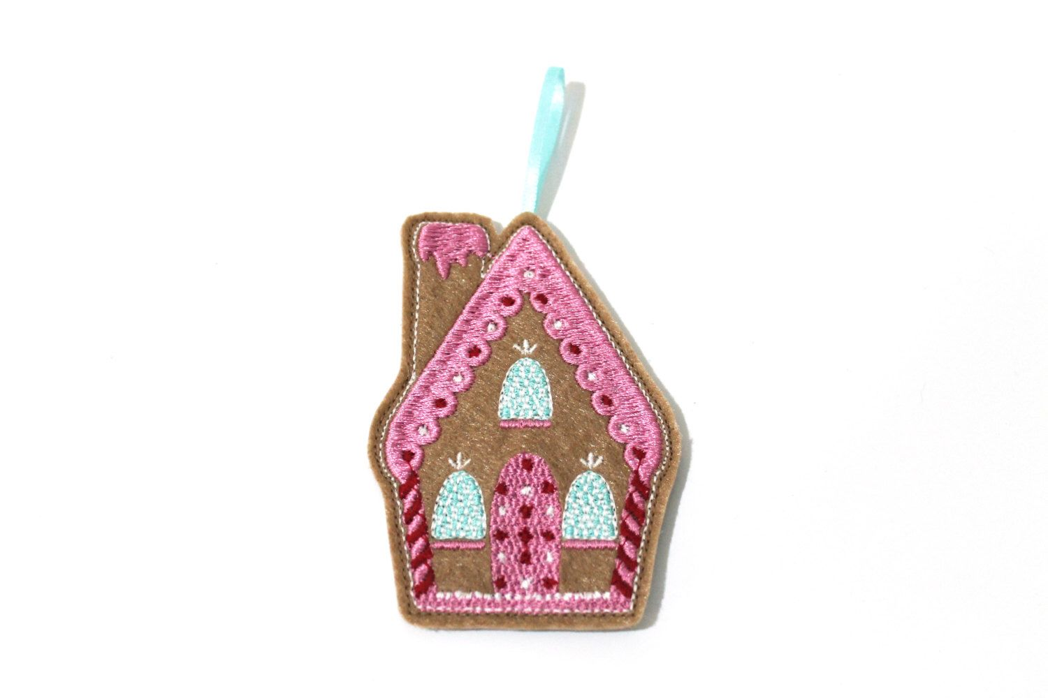 A personal favourite from my Etsy shop https://www.etsy.com/au/listing/494961205/gingerbread-house-ornament-decoration