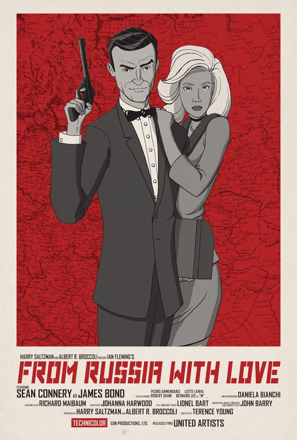 From Russia with Bond by ~jtchan on deviantART