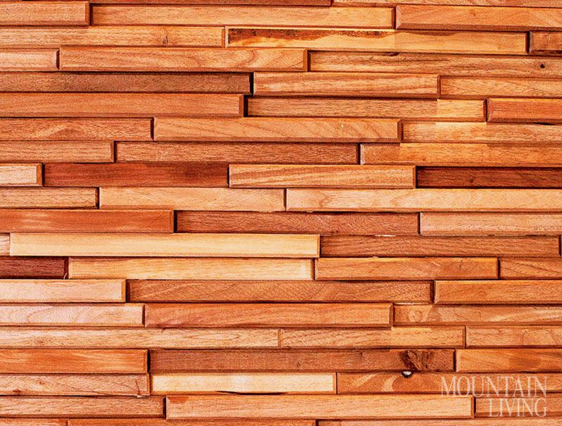 Wall tile made from wood scraps from cabinet and door makers MORE AT /  sc 1 st  Pinterest & Wall tile made from wood scraps from cabinet and door makers MORE ... pezcame.com