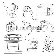 Resultado De Imagen Para Colorear Utensilios De Cocina Aparatos