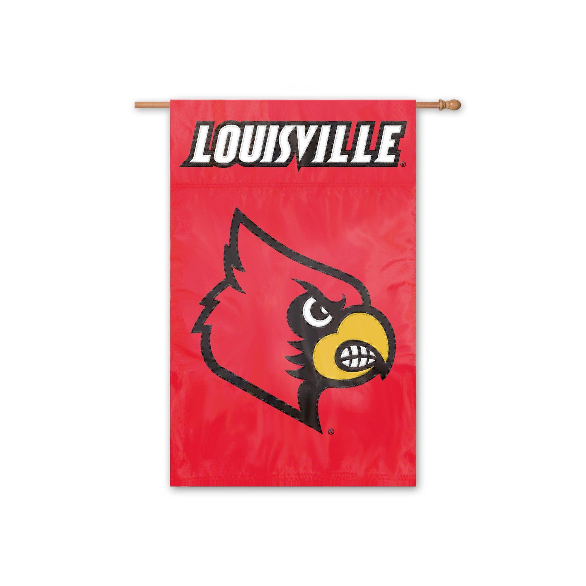 Louisville Cardinals Banner Flag, Multicolor