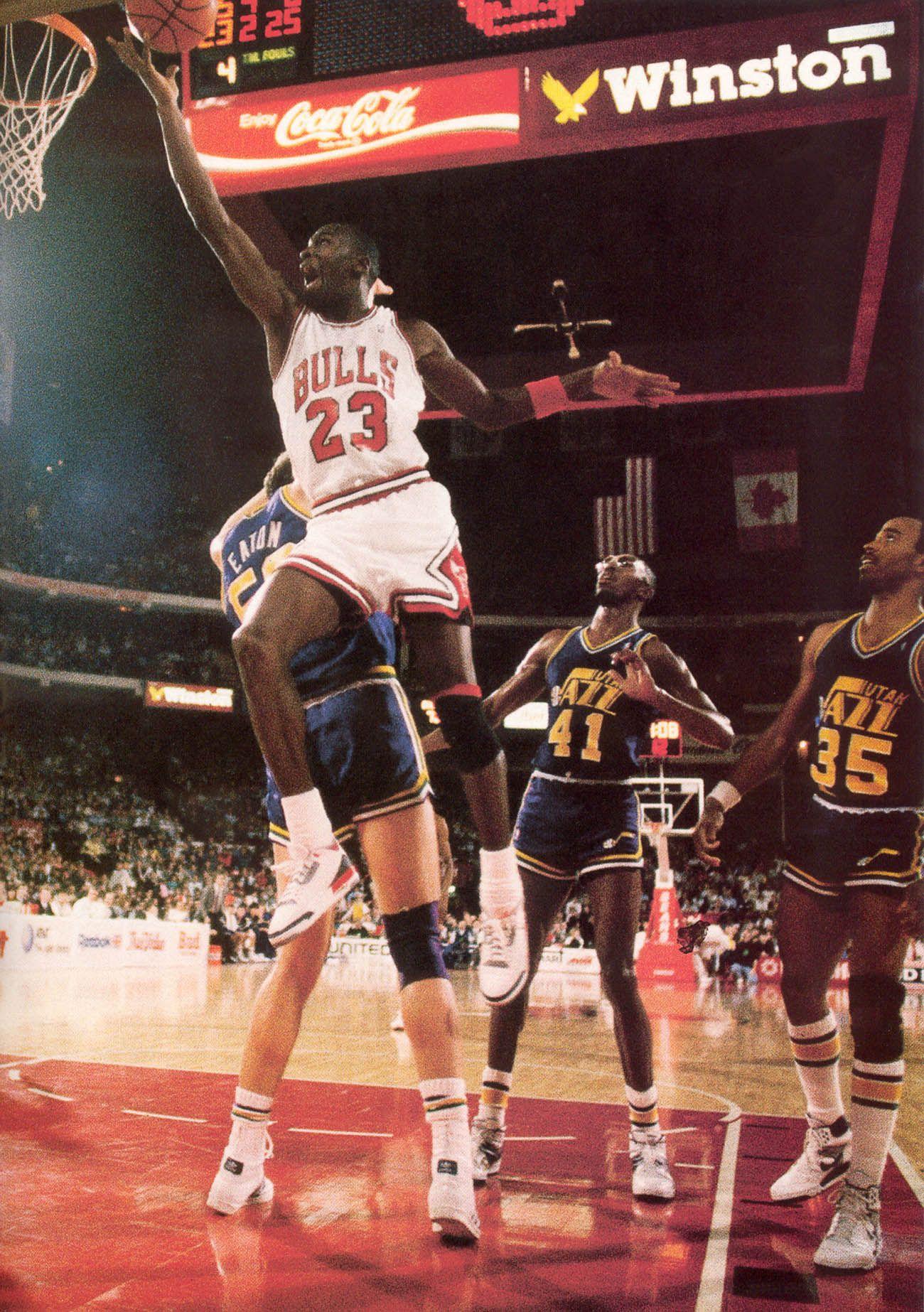 475488e5360468 Utah Jazz  Layup Over Mark Eaton (1987 88 NBA Season)