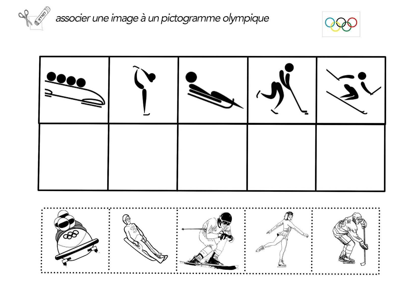 Fiches Jeux Olympiques Ready To Print