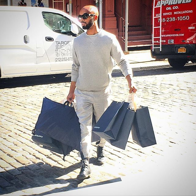 Great service today at @suitsupply SoHo, excited about fall thanks to what's in these bags 😊