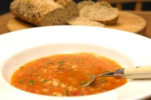 On the Pulse - 9 Cheap Easy Recipes for Pulses: Vegetable Bean Soup Recipe