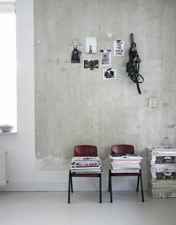 weiße wandfarbe farbe für beton | interior.inspiration | Pinterest ...
