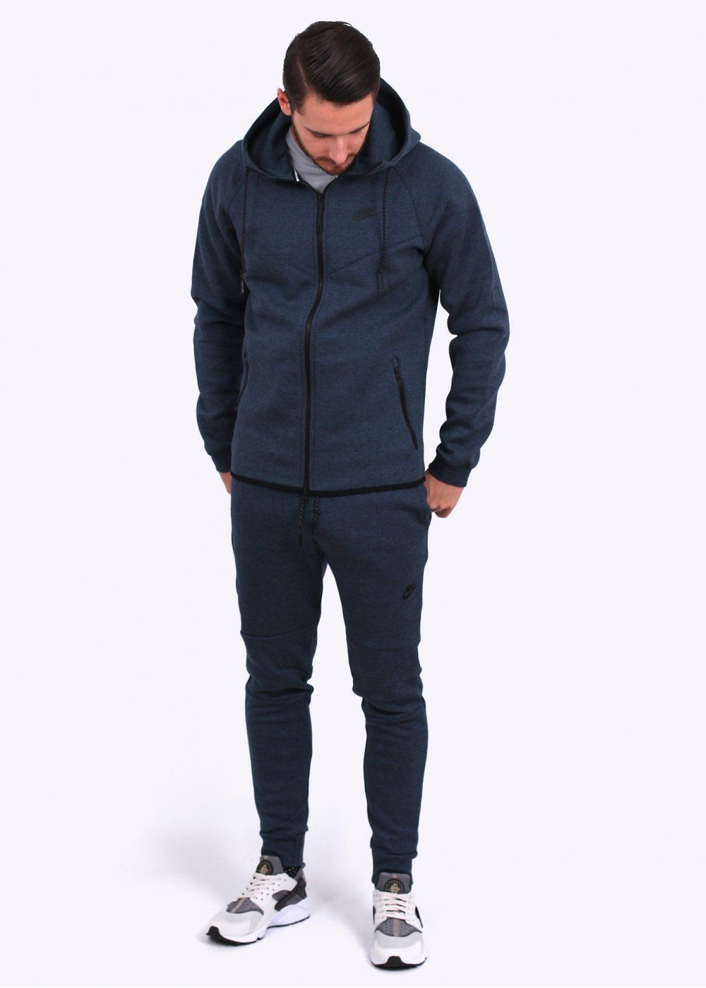 cb08775fe2ab Nike Apparel Tech Fleece Windrunner - Squadron Blue