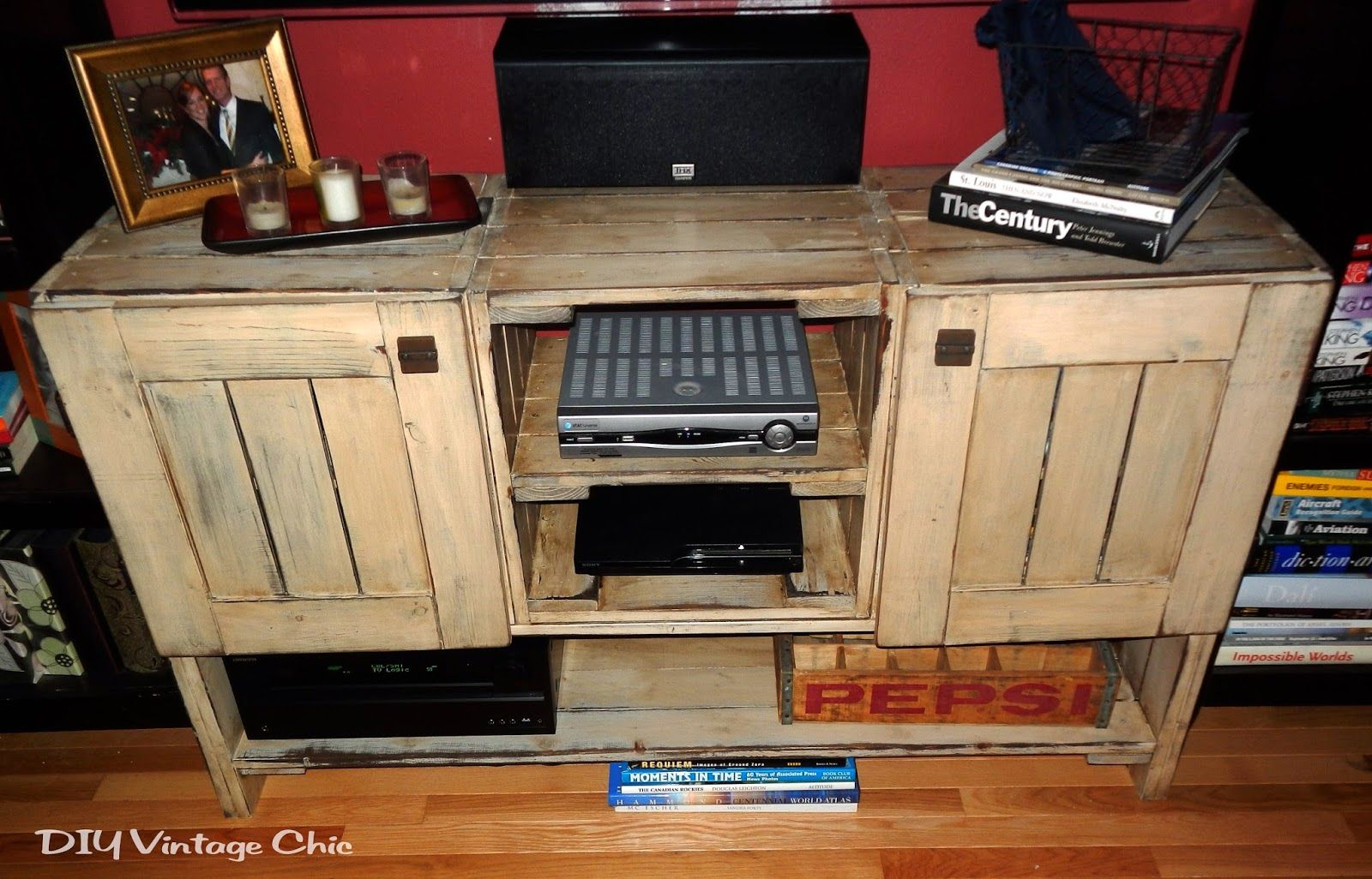 Pallet tv stand plans download link at bottom of page for Homemade furniture instructions