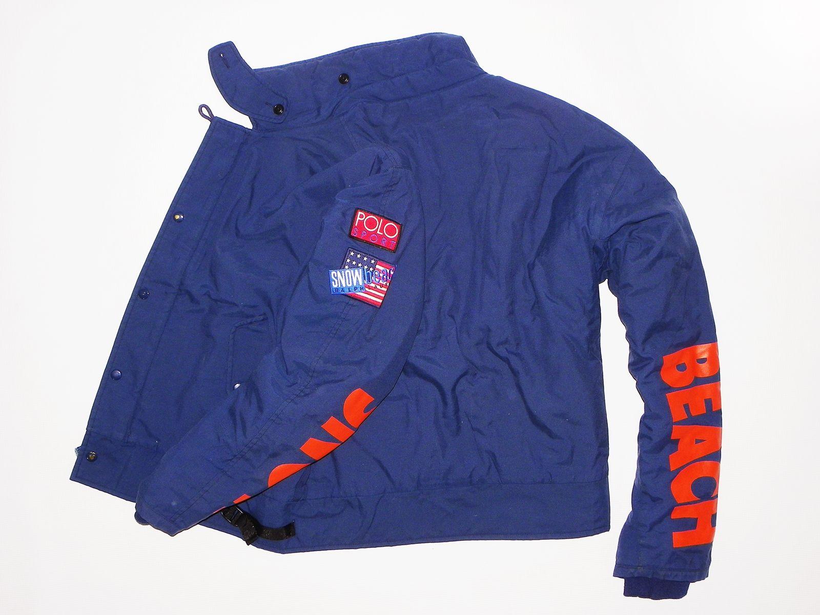 Vintage Polo Ralph Lauren Snow Beach Jacket For Sale Blue Bomber Jacket Polo Ralph Lauren Jackets [ 1200 x 1600 Pixel ]