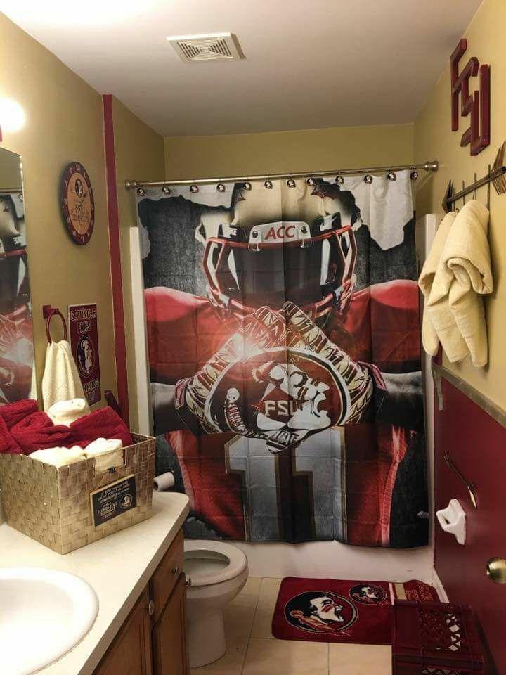 Fsu Bathroom Florida State Football Florida State Seminoles