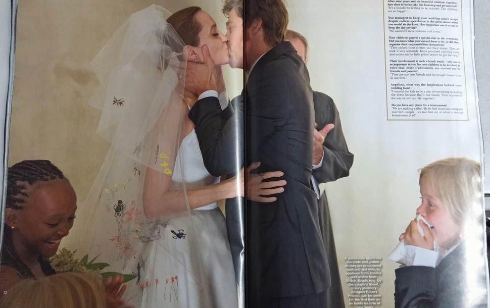 Jolie Pitt Wedding Brad Pitt And Angelina Jolie Angelina Jolie Wedding Brad Pitt