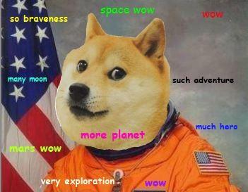 ac50427dcbd2c372a4c1672790ed9259 shibe astronaut doge meme pinterest astronauts, doge and memes