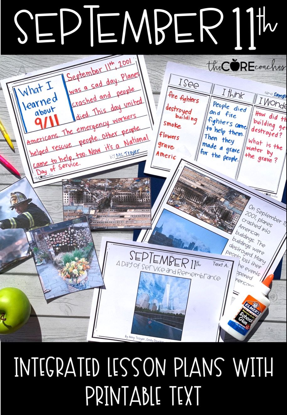 hight resolution of September 11th Research   Third grade activities