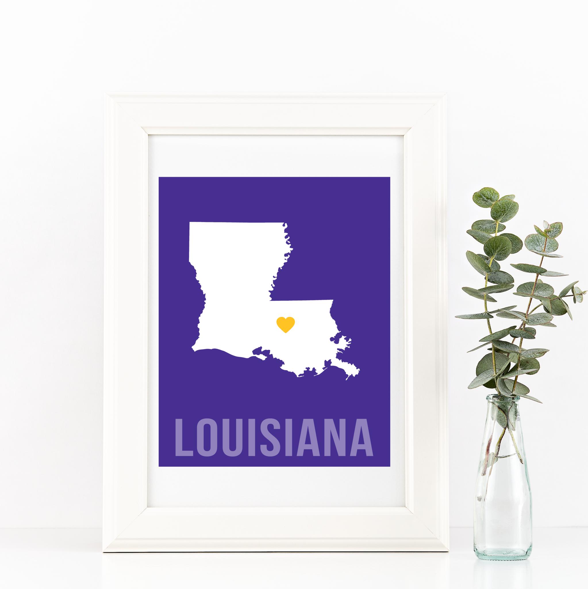 Louisiana Print Louisiana homes, Wall art, Colorful