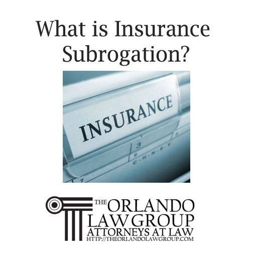 What Is Insurance Subrogation Insurance Critical Thinking Orlando