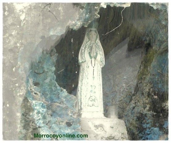 Virgen del Valle, piedra de la virgen en Morrocoy