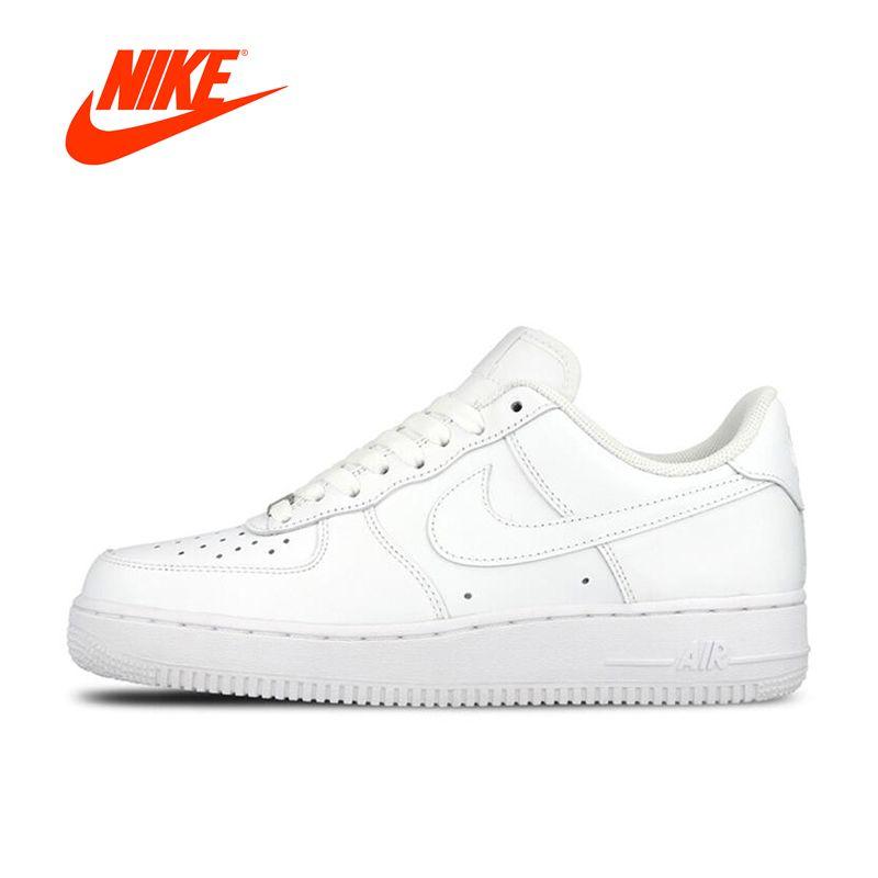 Oryginalny Nowy Przyjazd Oficjalne Nike Air Force 1 Af1 Unisex Kobiety I Mezczyzni Oddychajace Buty Skateboardingu 32831783615 R Nike Air Nike Air Force Nike