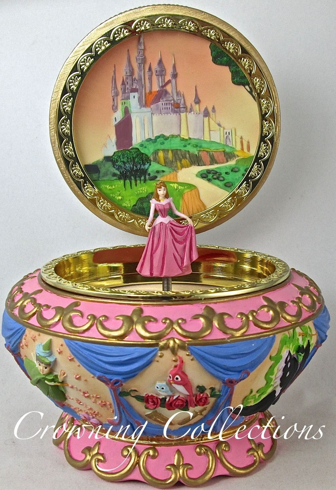 Disney Sleeping Beauty Music Box Music box Pinterest Disney