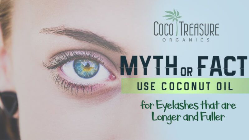 Does using coconut oil for eyelashes really make them grow