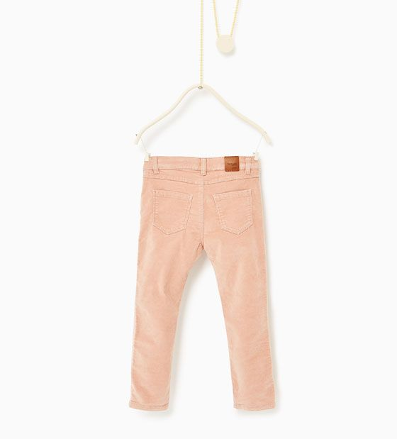 ZARA - KIDS - Trousers with zips