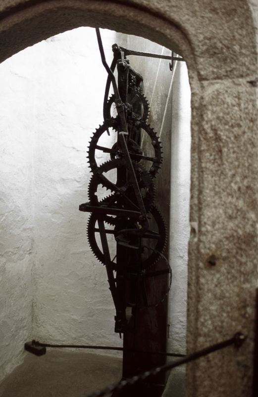 The Cotehele Clock Calstock Cornwall