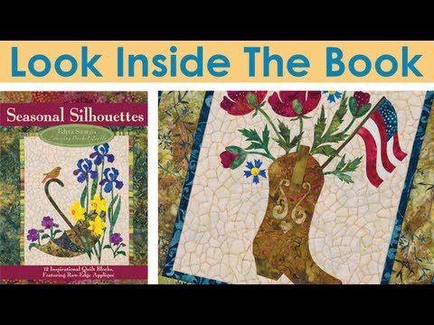 Applique Basket Quilt Block pattern on point | ... Book: Seasonal ... : laundry basket quilts seasonal silhouettes - Adamdwight.com
