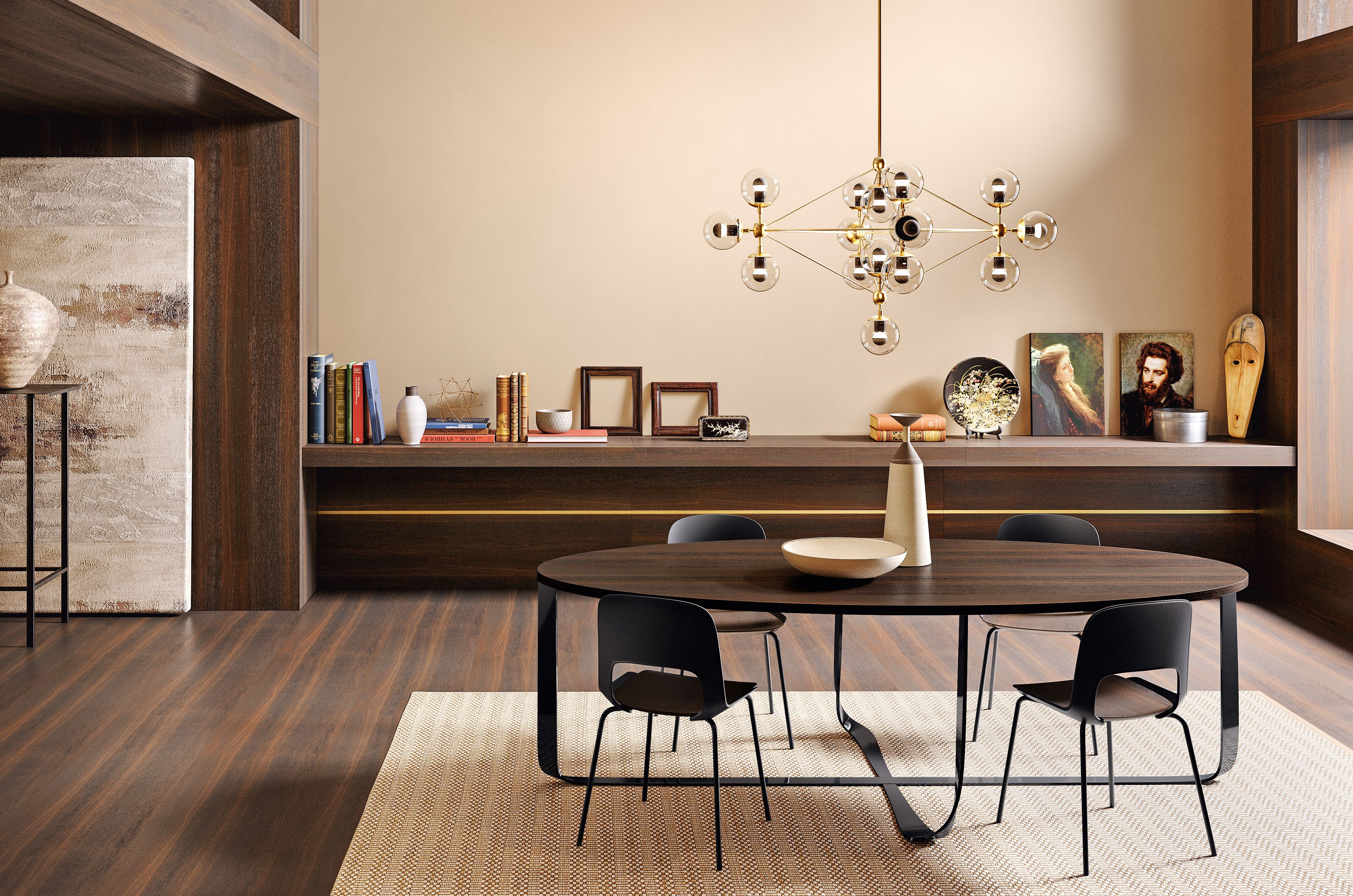 Confluence Table And Cora Chairs Pianca Www Pianca Com  # Cora Meuble Tv