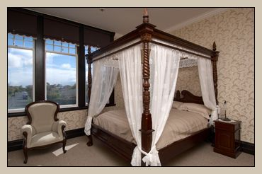 Unwind In The Elephant Room At Safari Lodge On Your Super King Four Poster  Canopy Bed