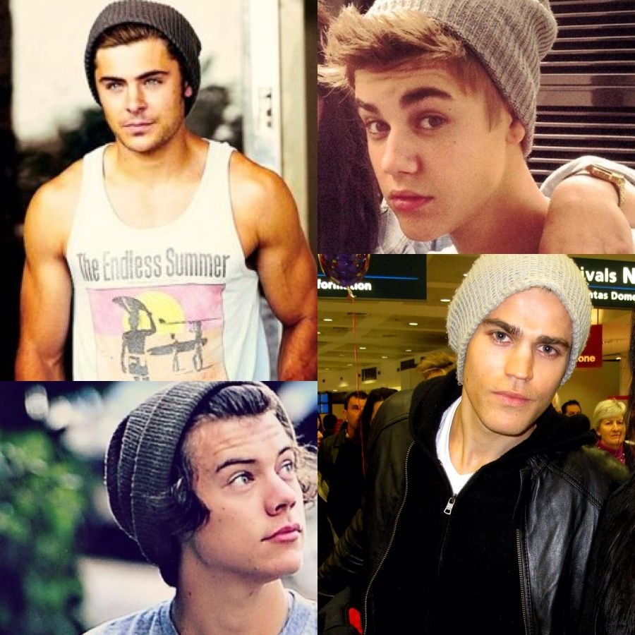 Paul Wesley And Justin Bieber