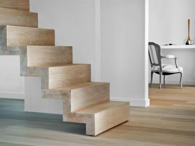 Bloktrap eiken stairs stairs house stairs en interior for Spiltrap hout