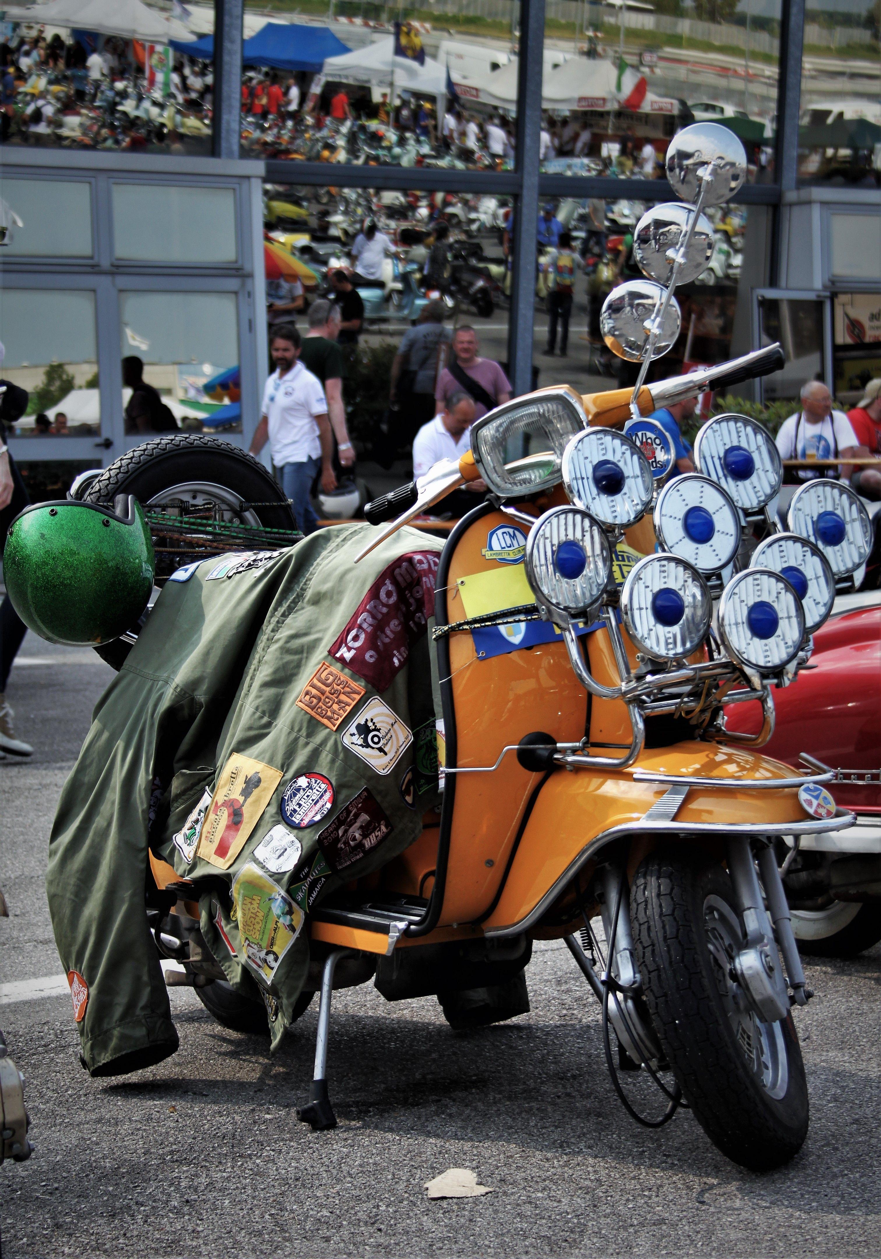 Mod Uk By Marco Polo Vespa Retro Scooter Lambretta