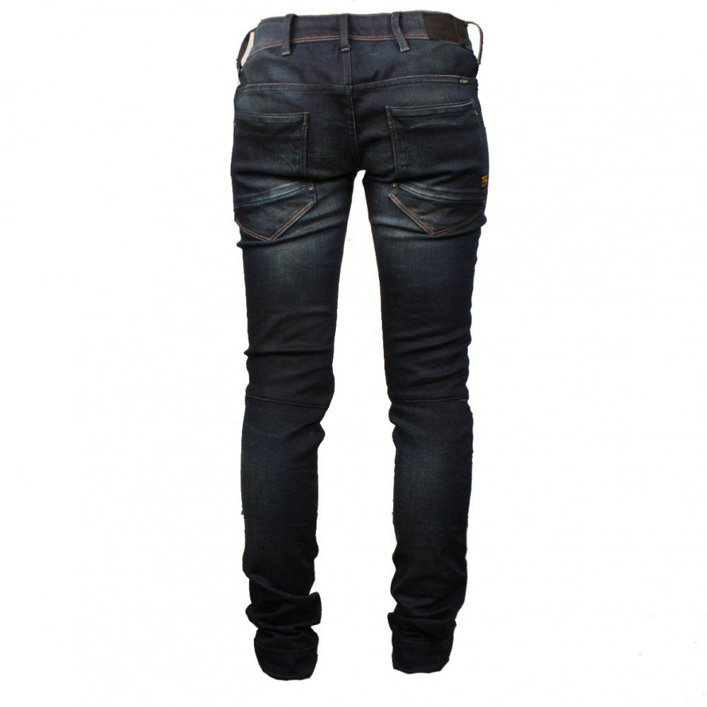 G Star New Elva Slim Tapered Jeans in Track Wash | Style