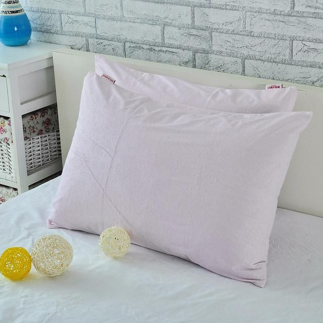 Bed Bug Pillow Cover Simple Bamboo Fiber Waterproof Pillow Protector For Bed Bug Terry Antimite Decorating Design