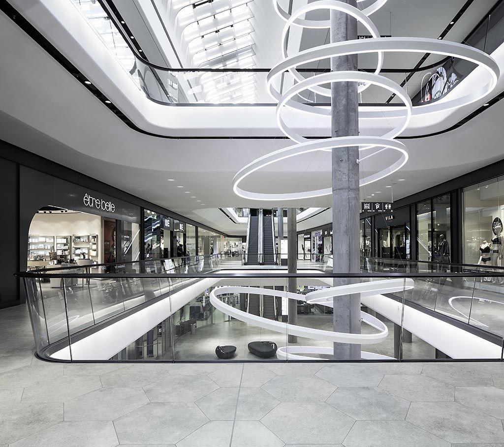 Das gerber stuttgart shopping mall interior design for Interior design shopping