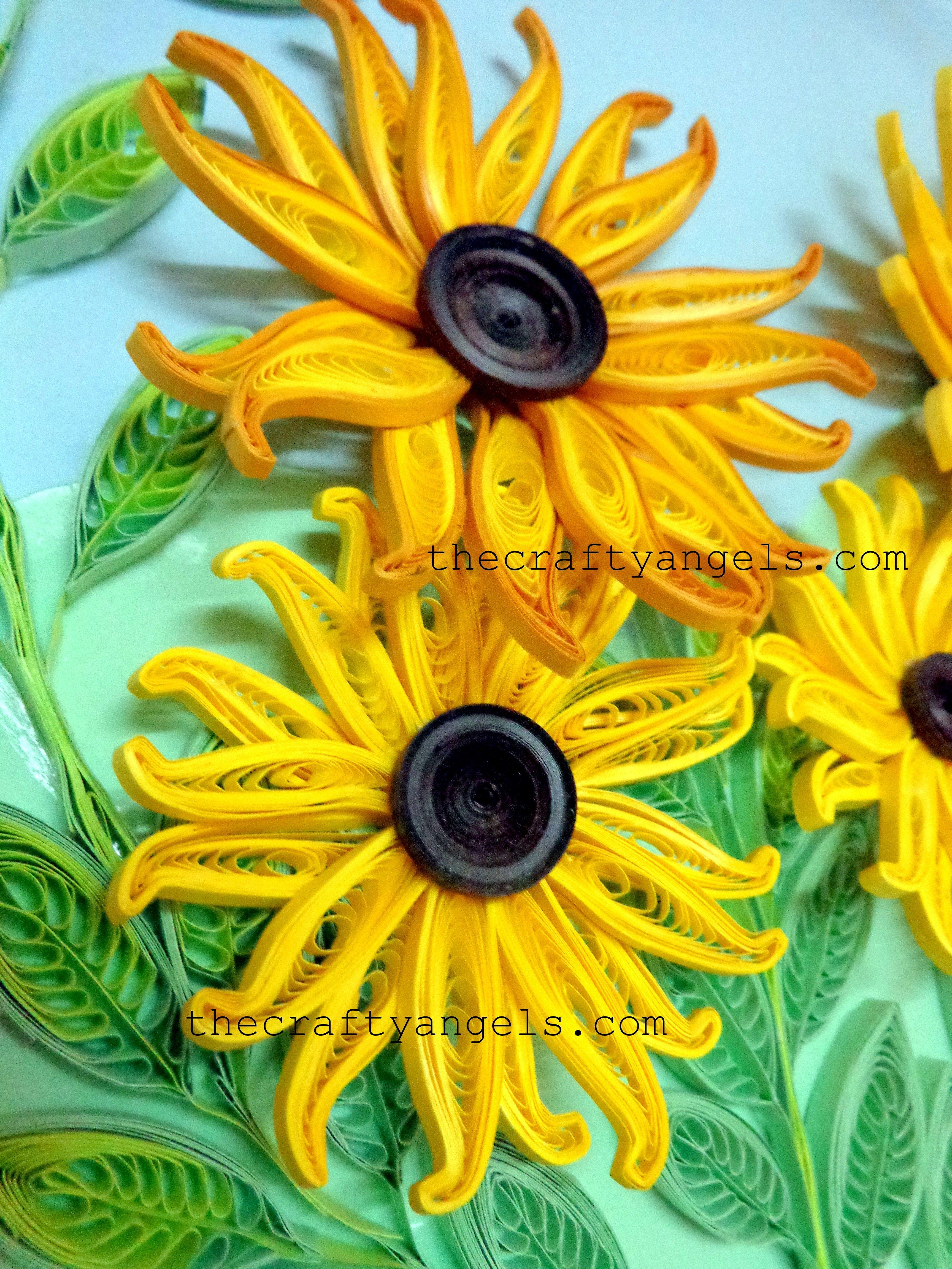 quilled flower tutorial | Kym | Pinterest | Flower tutorial ...
