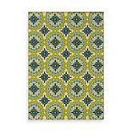 Sphinx Caspian Green/Blue Medallion 7-Foot 10-Inch x 10-Foot 10-Inch Indoor/Outdoor Rug
