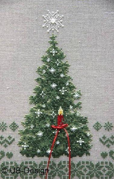 Weihnachtsbaum tannenbaum weihnachten kreuzstich for Pinterest weihnachten