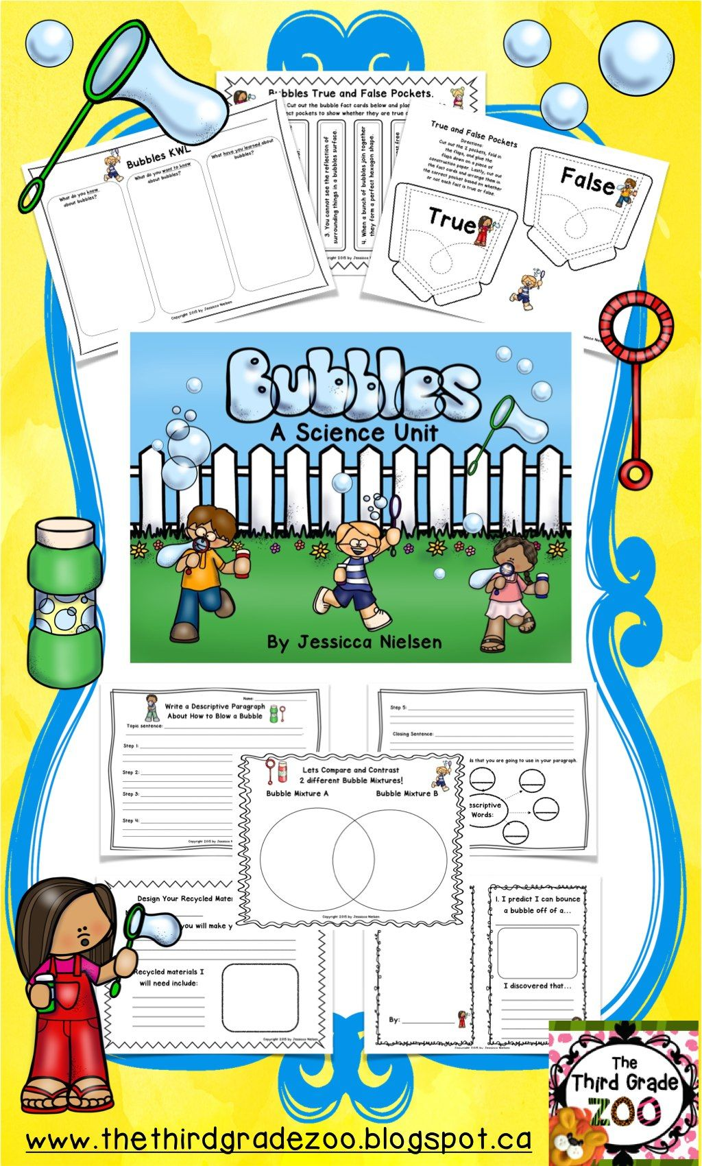 Bubbles A Science Unit