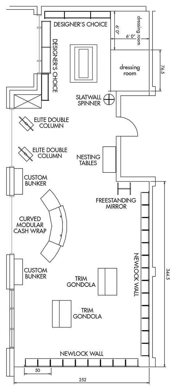 Pin by on store layout pinterest store layout for Floor plan furniture store