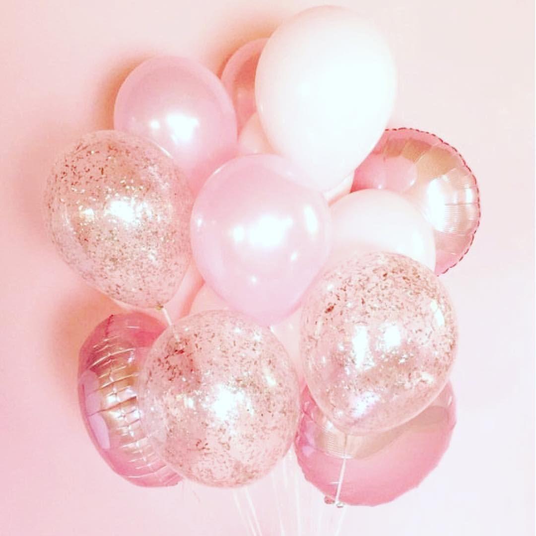 Woke Up To Pretty Decorations Happy Birthday To Me Pink Girly Birthdaygi Birthday Wallpaper Pink Wallpaper Pink Aesthetic