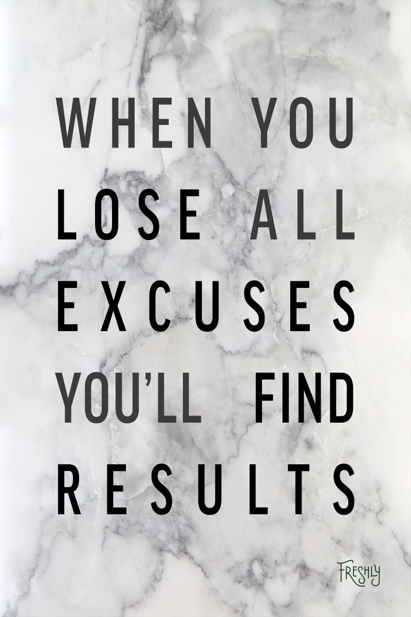 foto How to Stop Making Excuses