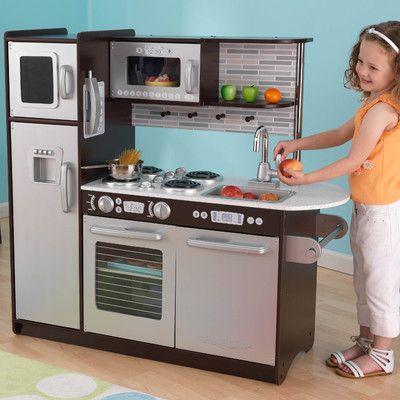 Uptown Kitchen Set Uptown Kitchen Kids Play Kitchen Kidkraft Kitchen