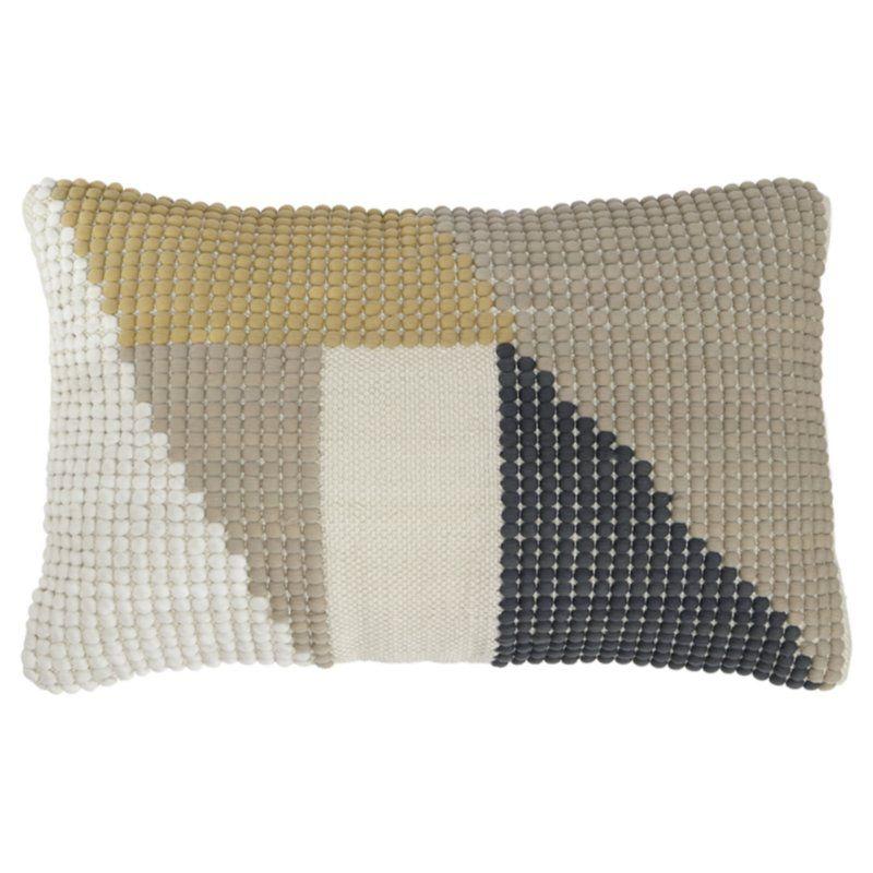 Beaudoin Indoor Lumbar Pillow   living room   Pillows, Contemporary ...