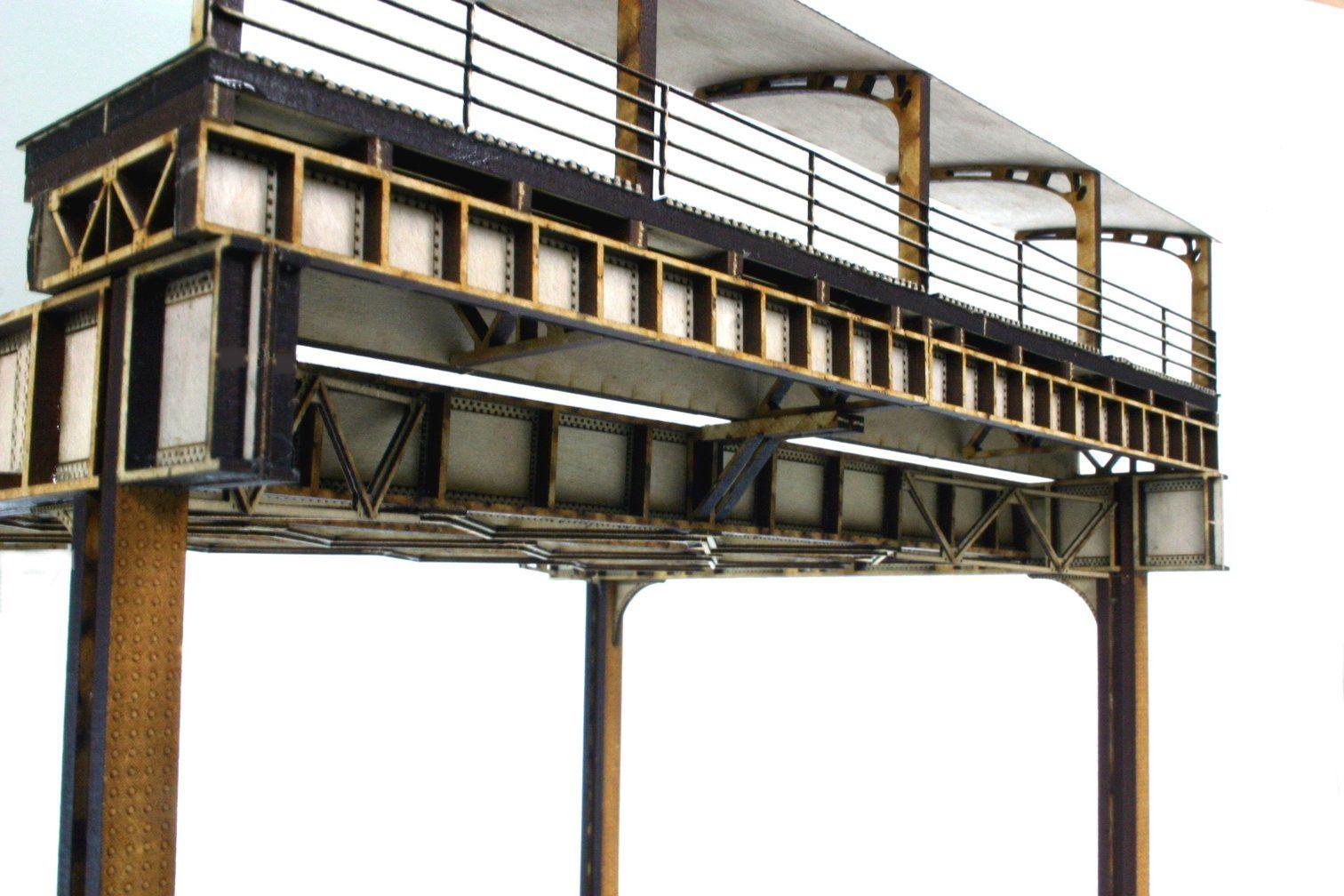Ho nyc station platform concrete deck steel girder