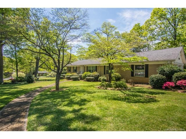 Under Contract  Brookwood Rd Charlotte Nc